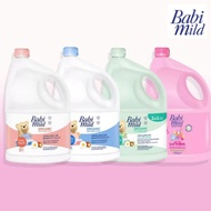 เบบี้มายด์น้ำยาซักผ้าเด็ก 3000 มล.  น้ำยาปรับผ้านุ่มเด็ก 3000 มล.  เจลล้างมือ 50 มล.