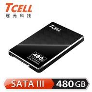 【TCELL 冠元】TT550_480GB SSD 2.5吋固態硬碟3D TLC 英倫紳士風(讀:550M/寫:480M)