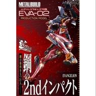 現貨 Bandai METAL BUILD 新世紀福音戰士 2號機 Evangelion EVA-02 貳號機 二號機