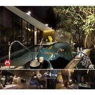 台中水舞行館Motel『頂級水舞B套房+早餐+烤箱或蒸氣+獨立車庫』部分房KTV/泳池