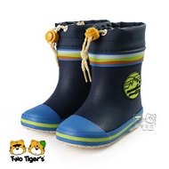 MoonStar 日本月星 兒童雨鞋 藍色 雨靴 小童鞋 NO.R4840