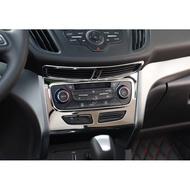 KUGA不鏽鋼冷氣空調中控飾框FORD福特內飾改裝非碳纖維DEF