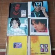 早期知名的影視歌星黃立行,陳曉東,林曉培的CD六盒一組,非常希少