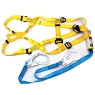 【中台工具】台灣製 (雙大鉤) ADELA 背負式安全帶 落傘式安全帶 雙大鉤安全帶.用於高處 .工程作業