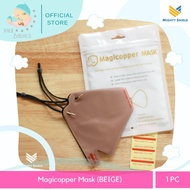 Pink and Beige MagiCopper Mask