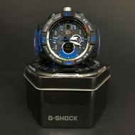 G Shock Blue/Black Ferrari