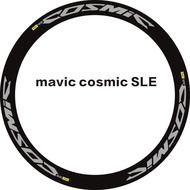 Vinyl 3M StickersMAVIC COSMIC SLE Road Bike Wheelset Stickers For 38/40/50 Mm Two Wheels Decals