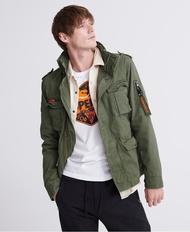 跩狗嚴選 正品 極度乾燥 Superdry Rookie 經典 M65 復古 軍裝夾克 外套 純棉 卡其軍綠 橘邊 6+1口袋