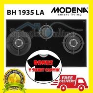 Kompor Tanam Gas 3 Tungku Modena BH 1935 LA Harga Pabrik