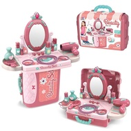 เด็กเล่นแกล้งทำเป็นอุปกรณ์แต่งหน้าของเล่นสำหรับสาวของขวัญ Doctor/ห้องครัวเล่นชุดเจ้าหญิงแต่งกายกระเป๋าเดินทางแบบพกพา