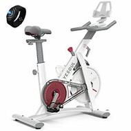 YESOUL Smart Connect Fitness Bike Stationary for Home Gym with Heart Rate Armban