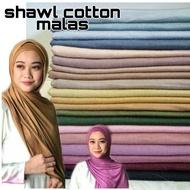 shawl cotton jersey Malas /shawl malas borong