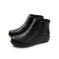Moonstar Sporth 牛皮 短靴 靴子 黑色 女鞋 SF0260WP6  no093
