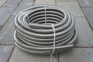 不鏽鋼波紋管白鐵軟管環型波紋管ST鋼絲管熱水器四分進水高壓馬桶水箱瓦斯衛浴軟管