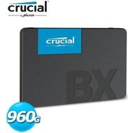 美光 Micron Crucial BX500 960G 960GB 2.5吋 SATA3 SSD 固態硬碟
