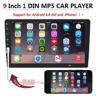 """[MY Ready Stock]Promotion! 9\"""" Single 1 Din Touch Screen Car Radio Stereo MP5 Player Android & IOS MirrorLink With Camera XGODY 9008"""
