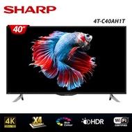 【SHARP 夏普】40型4K HDR智慧連網顯示器4T-C40AH1T
