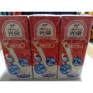 光泉保久乳200ml6入/全旨/巧克力/果汁/低直