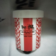 Coach  陶瓷杯➕蓋