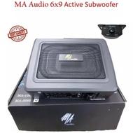 MA AUDIO 6X9 ACTIVE SUBWOOFER