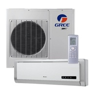 Gree 1.0HP Aircond Wall Mounted Non Inverter Lomo Series