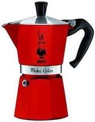 紅色現貨~風塵絕代~義大利原廠製~Bialetti Moka express 三杯份3杯經典八角經典摩卡壺另有黑色灰色