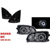卡嗶車燈 HINO日野 500 2008-Present 兩門車 光導LED天使眼魚眼含角燈 大燈