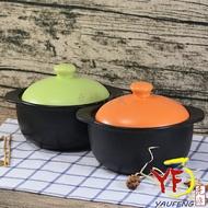 ★廚房系列★鶯歌製造養生陶瓷 陶砂鍋 馬卡龍色系 單入 橘色/綠色 | 滷味鍋 | 燉鍋 (1人適用)