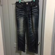 BIG TRAIN牛仔褲(墨達人)