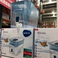 Brita 桌上型濾水箱 8.2公升 (附三入 MAXTRA PLUS 濾芯) 好市多代購