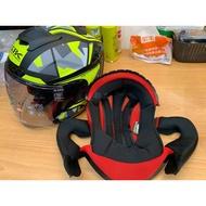 瀧澤部品 SBK ZR 整套內襯 頭頂 兩頰 頰襯 頭襯 備品 配件 內裏 半罩安全帽