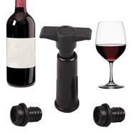 Bottle Vacuum Wine Preserver Saver Sealer Plug Preserver Pump  with 2 Stoppers Set Wine Stopper