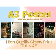 【 I TOLD SUNSET ABOUT YOU 】A3 POSTER