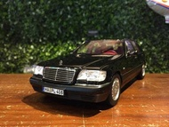1/18 Norev Mercedes-Benz S-Class S600 W140 1997 183722【MGM】
