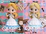 日版 Q Posket 愛麗絲 思考時間 一套兩款 迪士尼 Qposket Disney Characters - Alice Thinking Time - 公仔