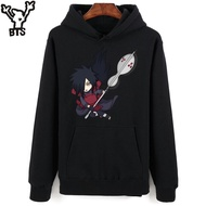 Bts Naruto Hoodies Men Casual Cartoon Hooded Tops And Set Classic Japanese Anime
