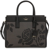[KATE SPADE] 10447243 - kate spade new york Cameron Street Perforated Candace Satchel Bag, Black