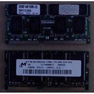 筆電記憶體pc133 ddr2 ddr3 1g 2g 4g 8g