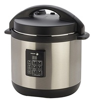 Fagor 3-in-1 6-Quart Multi-Use Pressure Cooker, Slow Cooker and Rice Cooker, Stainless-Steel - 67004