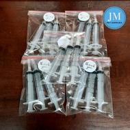 3pcs 5cc Disposable Handfeeding Syringe