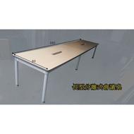 【OA543二手辦公家具】二手長型分離式會議桌380可做12到15人