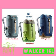 💙2019💙 Deuter WALKER 16 Daypack Backpack School Bag