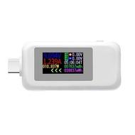 SUN KWS-1902C C型彩色顯示屏USB測試電流電壓監測電力儀表