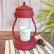 【香氛時光】古典 香氛蠟燭 暖燈 啞砂紅 蠟燭燈 薰香燈 融燭燈 香氛燈 旋轉開關 可調燈光(多規格蠟燭適用)