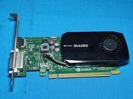 NVIDIA Quadro K600 DDR3 1GB graphics card 繪圖卡 128bit 二手良品