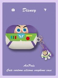 適用于airpodspro保護套可愛玩具總動員三代蘋果無線藍牙耳套airpods3迪士尼保護殼1巴斯光年硬2潮牌por