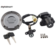 Ignition Switch Seat Lock Gas Petrol Cap Cover Key Set for Yamaha MT03 06-12 YZF R6 R1 XJ6 FJ09 FZ09 FZ07 FJ13 FZ1 FZ6 FZ8 Motorcycle Accessories