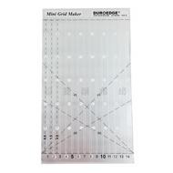 【松芝拼布坊】KT-0610G 拼布縫紉 止滑 直線 壓線 型板尺 15cm寬