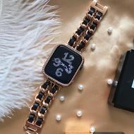 Qqiling ใช้ได้กับ Apple Watch สายคล้อง Applewatch ขนาดเล็กหวาน Iwatch54-6-SE ลมรุ่น