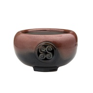 台灣手工製陶瓷黑晶面板遠紅外線電熱爐 團圓 電陶爐 手拉胚搭配鑄鐵茶壺-爐座~煮茶煎茶燒茶 燒水煮水
